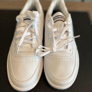 Men's Reebok White leather classics